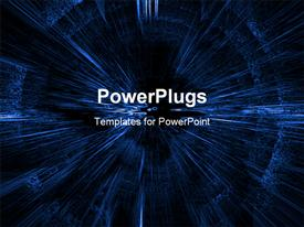 PowerPoint template displaying abstract_B_0412