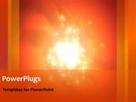 Abstract network powerpoint theme