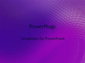 PowerPoint template displaying abstract textures purple