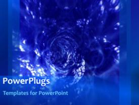 Abstract water background template for powerpoint