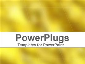 PowerPoint template displaying a plain off yellow colored background with some lines