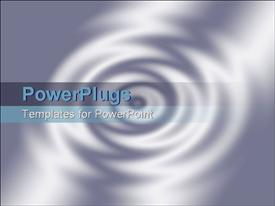 Rendered 3D ripples as background powerpoint theme