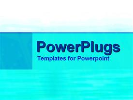 PowerPoint template displaying depiction of a plain blue and white tile background surface