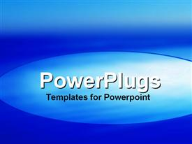 PowerPoint template displaying depiction of a plain blue and white surface tile