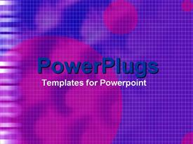 PowerPoint template displaying a plain checked purple and blue background surface tile