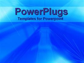 PowerPoint template displaying abstract light and dark blue textured patterns