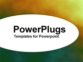PowerPoint template displaying a plain multi colored blurry  background surface tile