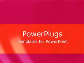 PowerPoint template displaying burgundy Favors in the background.