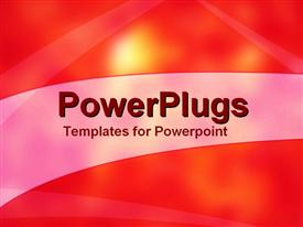 PowerPoint template displaying hot Sky