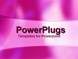 PowerPoint template displaying party Lights in the background.