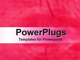 PowerPoint template displaying a plain pink and white background surface with some images
