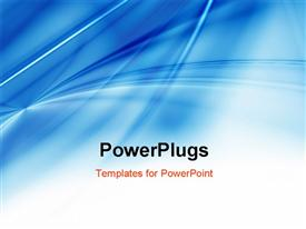 PowerPoint template displaying abstract Blue Background Texture in the background.