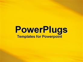 PowerPoint template displaying a plain yellow background tile with barker yellow edges
