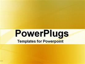 PowerPoint template displaying a fuzzy plain yellow and white surface background tile