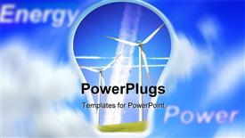 Alternative Energy template for powerpoint