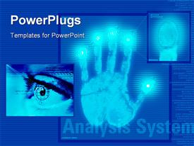 Analysis system powerpoint theme