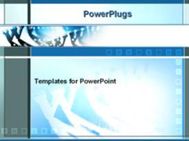 World wide web powerpoint template