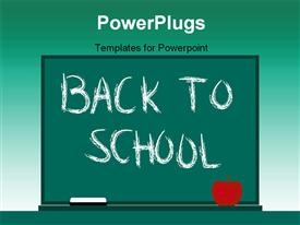 Back to school powerpoint theme