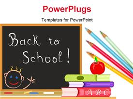 Back to School in September powerpoint theme