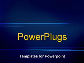 Abstract blue powerpoint design layout
