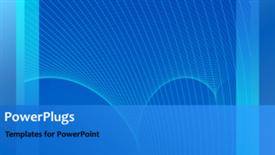Abstract network powerpoint design layout