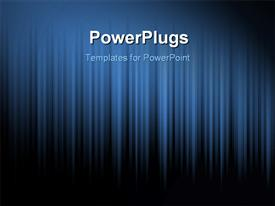 PowerPoint template displaying blue_Strokes_0306