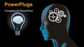 Brain powerpoint design layout