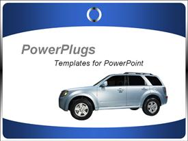 Deal template for car presentation for car dealers and car showrooms. Advice on purchasing new cars template for powerpoint