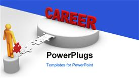 Building Career powerpoint design layout