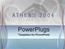 Athens 2004 powerpoint design layout