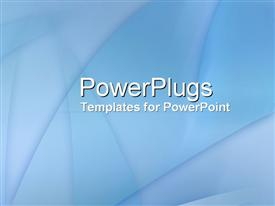 Blue Glass powerpoint template