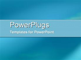 PowerPoint template displaying a plain blue and white colored background surface tile