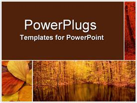 PowerPoint template displaying bus809