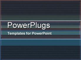 PowerPoint template displaying dark Lines