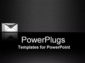 Email Communication  spam powerpoint theme