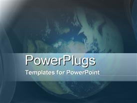 PowerPoint template displaying global View