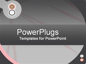 PowerPoint template displaying happy Savings