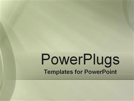 PowerPoint template displaying intermediary