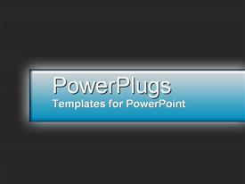 PowerPoint template displaying licorice in the background.