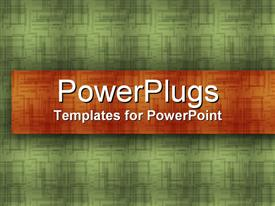 PowerPoint template displaying rich Threads