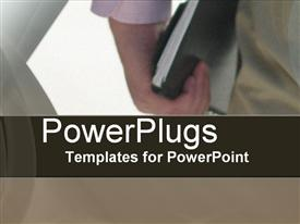 PowerPoint template displaying on Schedule in the background.