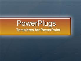 PowerPoint template displaying a plain blue background surface tile with some stripes