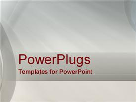 PowerPoint template displaying simplistic