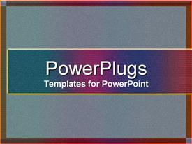 PowerPoint template displaying textures