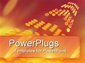 PowerPoint template displaying vibrant Future in the background.