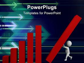 Building up the charts powerpoint template
