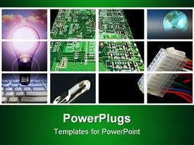 Network grid template for powerpoint