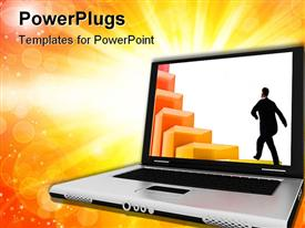 Modern Laptop powerpoint theme
