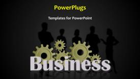 Abstract business background powerpoint theme