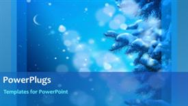 Christmas background powerpoint template